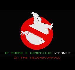 Ghostbusters Zx Spectrum